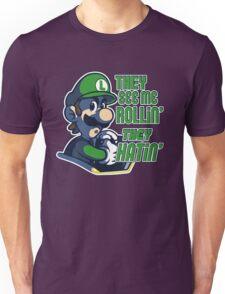 Luigi MK8 - Ridin' Dirty Unisex T-Shirt