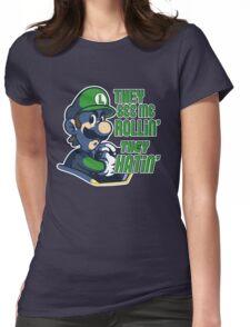 Luigi MK8 - Ridin' Dirty Womens Fitted T-Shirt