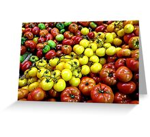 Heritage Tomatoes I Greeting Card