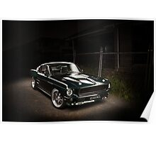 Andrew's 1967 Ford Mustang Fastback Poster
