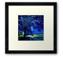 Starry Night - Monkey Mia Framed Print