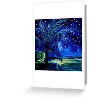Starry Night - Monkey Mia Greeting Card