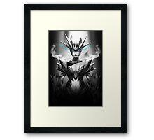 Shyvana - League of Legends Framed Print