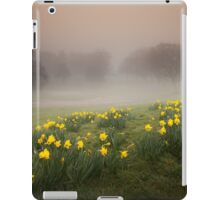 Welsh Misty Daffodils iPad Case/Skin