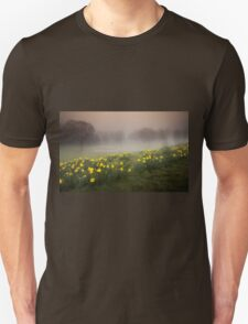 Welsh Misty Daffodils Unisex T-Shirt