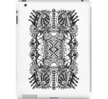 SYMMETRY - Design 009 (B/W) iPad Case/Skin