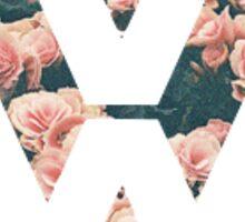 VW floral Sticker