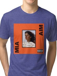 M.I.A. - AIM Album  Tri-blend T-Shirt