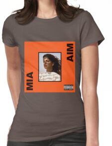 M.I.A. - AIM Album  Womens Fitted T-Shirt