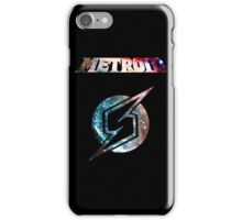 Metroid Minimalist Nebula Design iPhone Case/Skin
