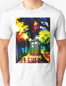 tardis starry night Unisex T-Shirt