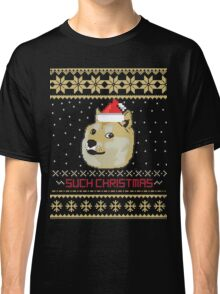 Such Christmas - Christmas Sweater Fun Classic T-Shirt