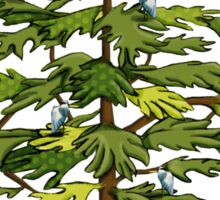 Heron Tree Sticker