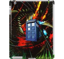 tardis in the mix of art iPad Case/Skin