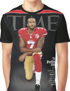 Colin Kaepernick Time Cover Graphic T-Shirt