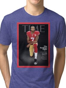 Colin Kaepernick Time Cover Tri-blend T-Shirt