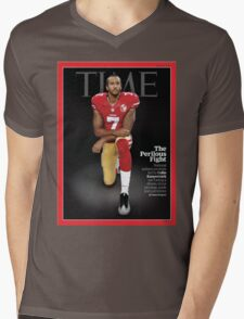 Colin Kaepernick Time Cover Mens V-Neck T-Shirt