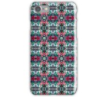 festive Christmas holly pattern iPhone Case/Skin