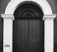 Archway Door by threewisefrogs