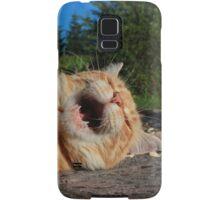 Karaoke kitty Samsung Galaxy Case/Skin