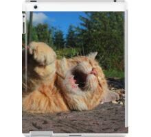 Karaoke kitty iPad Case/Skin