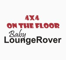 4 x 4 on the Floor Lounge Rover One Piece - Short Sleeve