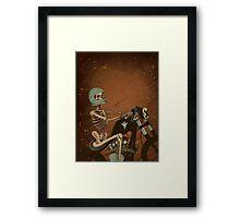 Spook Night Rider Framed Print