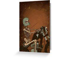 Spook Night Rider Greeting Card
