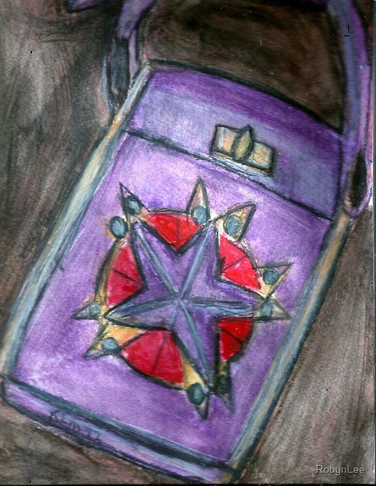 Pricey Purple Purse by RobynLee
