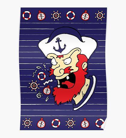 Cussin Sailor Poster