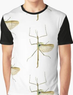 Strong Stick Insect Illustration Graphic T-Shirt