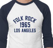 Folk Rock Men's Baseball ¾ T-Shirt