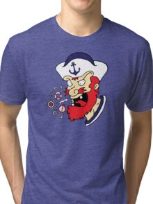Cussin Sailor Tri-blend T-Shirt
