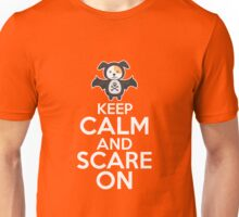 KEEP CASLM AND SCARE ON Unisex T-Shirt