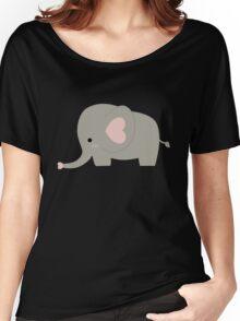 Cute Pastel Little Elephant Kawaii Women's Relaxed Fit T-Shirt