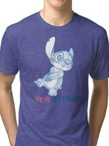 Her Stitch Sketch Tri-blend T-Shirt