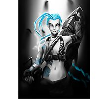 Jinx - League of Legends Photographic Print