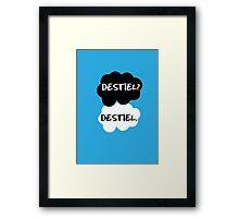 Destiel - TFIOS Framed Print