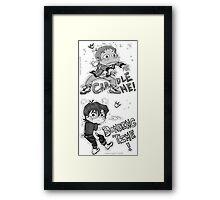 Lance & Keith - Bonding Time (Voltron) Framed Print
