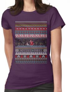 Phantom Holiday Sweater Womens Fitted T-Shirt