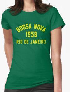 Bossa Nova Womens Fitted T-Shirt