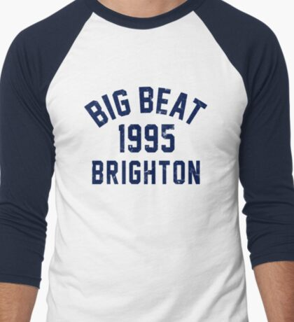 Big Beat Men's Baseball ¾ T-Shirt