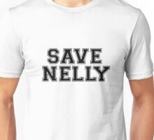 """Save Nelly"" Varsity Letters Unisex T-Shirt"