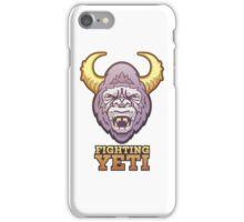 Fighting Yeti Sports Logo iPhone Case/Skin