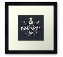 Bacon Pancakes Framed Print