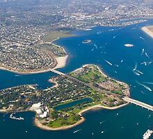 Mission Bay, San Diego, CA by Barbara  Brown