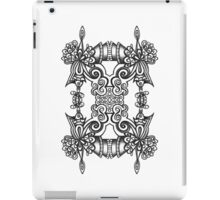 SYMMETRY - Design 012 (B/W) iPad Case/Skin