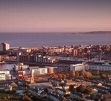 Swansea city south Wales by Leighton Collins
