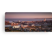 Swansea city south Wales Canvas Print