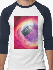 tardis starry night Men's Baseball ¾ T-Shirt